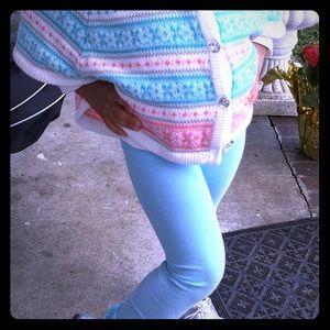 Girl's Gymboree poncho